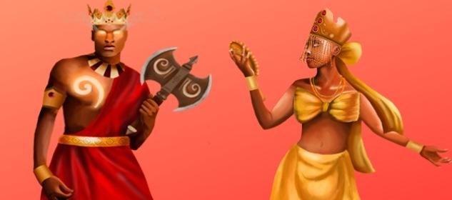 Amor entre Shangó y Oshun