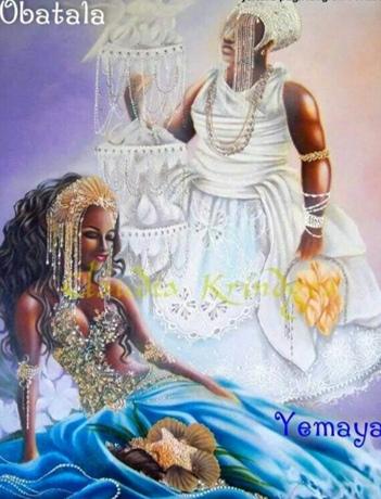 Hijos de Obatalá y Yemayá