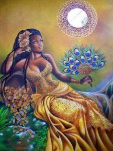 Orisha Oshun parte de los Orishas de Olodumare
