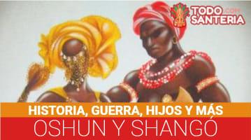 Oshun y Shangó