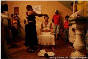 Ritual de iniciacion a la santeria