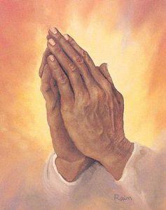 manos orando santeria