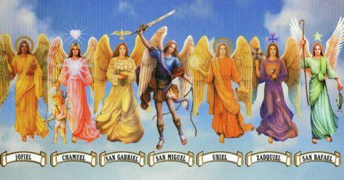 arcangeles de los siete rayos