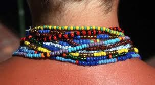 colocacion de collares yoruba