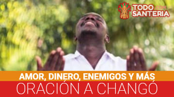 Oración a Changó