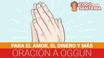 Oración a Oggún