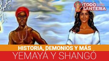 Yemayá y Shangó